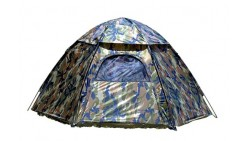 Texsport 3 Person Hide-A-Way Camo Backpacking Camping Tent with Carry Storage Bag