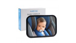 Baby Car Mirror Bundle The Newest Baby Backseat Mirror for your child Fully Assembled & Adjustable Wide Convex Shatterproof Glas
