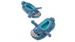 Disney Store Stitch Plush Slippers for Kids, Size 11/12