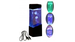CALOVER Jellyfish Lamp electric jellyfish tank Aquarium-color Changing mood lamp for home decoration magic lamp for gift