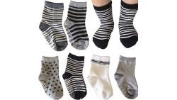 Calcetines de bebé kakalu Color Negro