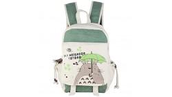 Innturt Anime Totoro Canvas Backpack Bag Rucksack School Bag