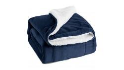 Manta Bedsure Fuzzy con textura reversible Sherpa