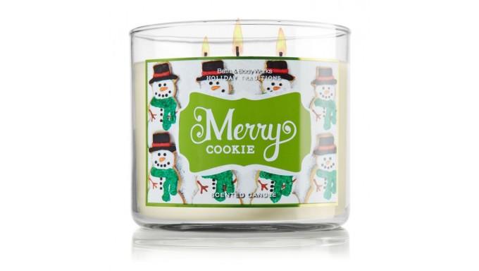 Candela Aromática Merry Cookie