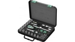 Wera Zyklop 8100 SB 4 3/8-Inch SAE Ratchet Set, 38-Piece