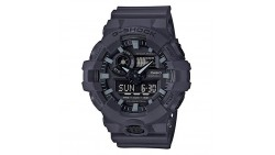 Casio Men s G SHOCK Quartz Resin Casual Watch, Color:Grey (Model: GA-700UC-8ACR)