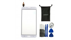 Sunways Glass Lens Screen With Touch Digitizer Replacement For Samsung Galaxy J7 J700(White)With device opening tools