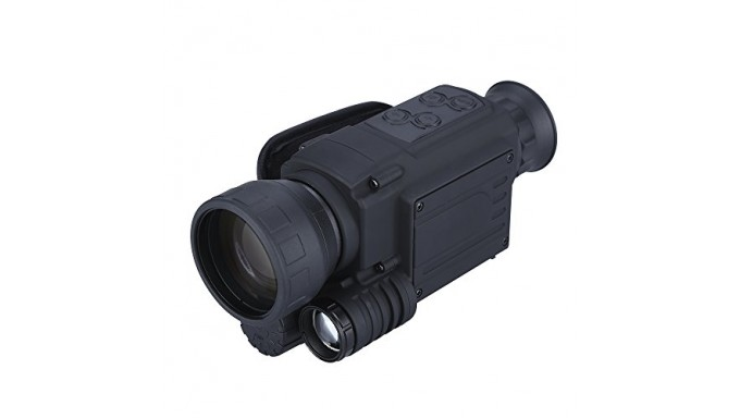 5x40mm Digtal Night Vision Monocular 200M IR Range with Image & Video Day&Night Shooting Hunting Owel Observation Scope