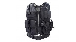 YAKEDA Tactical CS Field Vest Outdoor Ultra-light Breathable Combat Training Vest Adjustable For Adults 600D Encryption Polyeste
