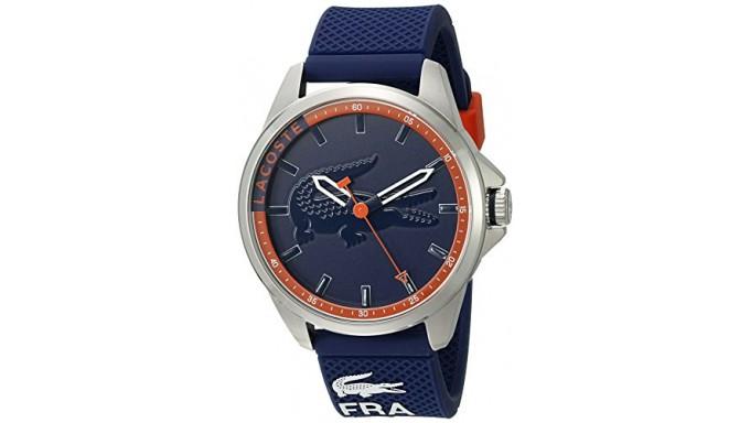 Lacoste Men s 2010842 Capbreton Analog Display Japanese Quartz Blue Watch