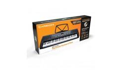 Hamzer 61-Key Digital Music Piano - Instrumento musical electrónico portátil con micrófono