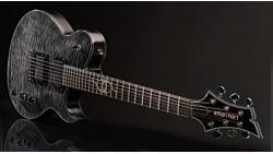 Ethan Hart Guitar - Trans Black - Off-Set Single Cutaway