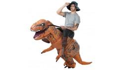 Disfraz Montando al T-Rex