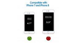 Protector de pantalla JETech para Apple iPhone 8 y iPhone 7