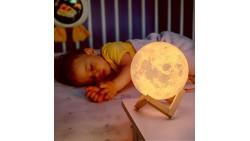 Lámpara 3D de Luna