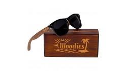 WOODIES Wayfarer gafas de sol de madera con lentes polarizados