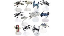 juego de figuras y soportes de juguetes de Star Wars