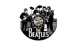 Reloj de vinilo de los Beatles