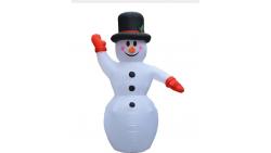 Inflable muñeco de nieve de 2,4 metros