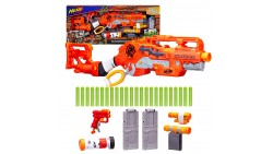 Pistola de juguete Scravenger Nerf Zombie Strike