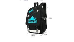 Mochila con diseño de Fortnite