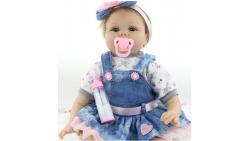 Muñeca bebé de silicona