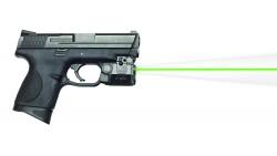 Vista universal de láser verde C5L y luz táctica para pistolas de mano sub-compactas