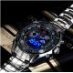 Reloj de acero y cuarzo para hombre TVG