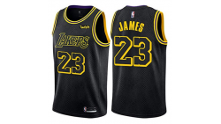Lebron James 23 Jersey de Los Angeles Lakers Swingman