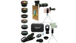 Kit de lentes para cámara de teléfono celular