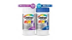 Centrum Silver Centrum - Multivitamn para hombre y mujer, 50 años o más