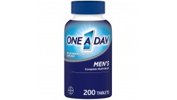 Suplemento multivitamínico One-A-Day para hombre.