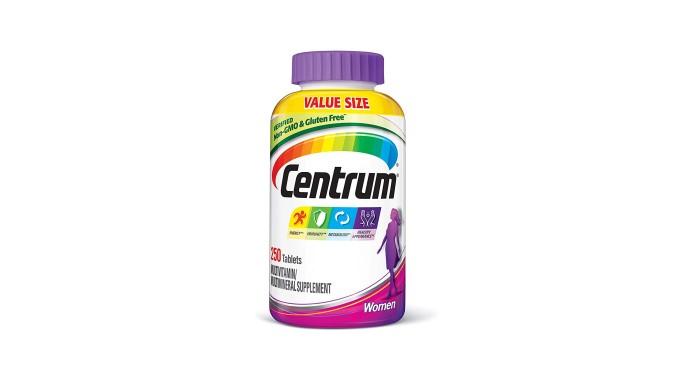 Multivitaminas Centrum para adulto, 200 unidades, de Centrum, Mujeres.
