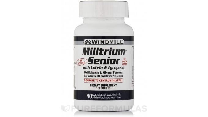 Milltrium Senior TB W/Lt wmill 120