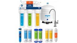 Sistema de filtro para agua potable de ósmosis inversa de 5 etapas