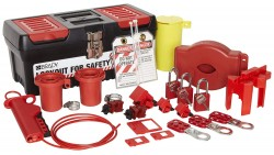 Kit de Bloqueo Etiquetado Eléctrico Valvulas Brady