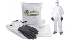 Kit de Protección para Respuesta de Emergencia Coronavirus COVID-19 Listo Para Usar en Bolsa Portátil