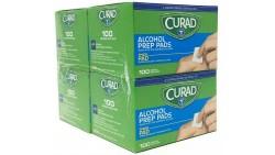 Toallitas de Preparación Individual con 70% Alcohol Isopropílic