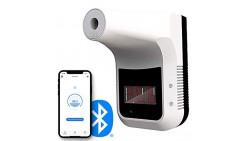 Termómetro de Pared Función Bluetooth, Detección Digital de Fiebre con Alarma