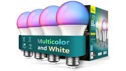 Treatlife - Juego de 4 bombillas inteligentes