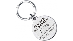"Greys Anatomy Llavero con texto en inglés ""You are My Person"