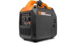 Generador de Inversor Portátil Súper Silencioso de 2000 Vatios con Apagado de Combustible