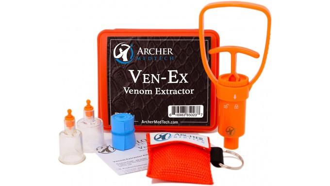 Ven-Ex kit de mordida de serpiente, kit de picadura de abeja, suministros de primeros auxilios de emergencia,