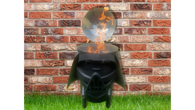 Parrilla Dart Vader BBQ Grill y Firepit