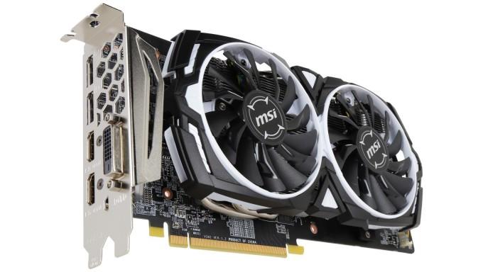 Tarjeta MSI Radeon RX 580 DirectX 12 RX 580 ARMOR 8G OC 8GB 256-Bit GDDR5 PCI Express x16 HDCP Soporta CrossFireX