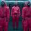 Traje Disfraz de juego del calamar Cosplay Halloween Props 2021 TV Cosplay