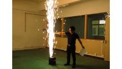 Chispas Frías de Metal y Titanio para Escenario de Llama Fría Sparkular