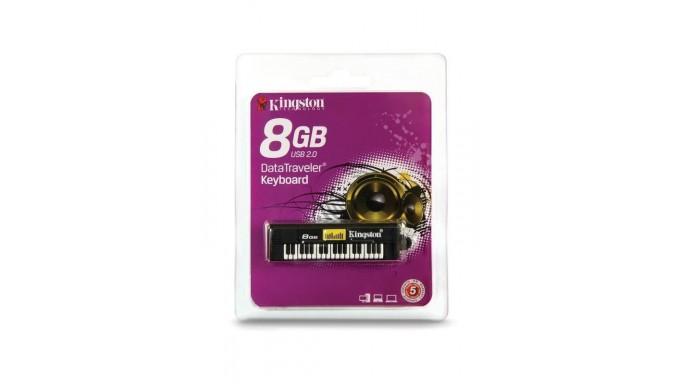 PIANO Llave Maya 8GB USB DATA KINGSTON