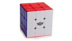 D-FantiX Cyclone Boys 3x3 Speed Cube Stickerless Magic Cube 3x3x3 Puzzles Toys (56mm)