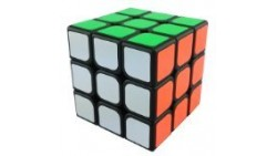 Qiyun GuanLong 3x3x3 Magic Cube Black